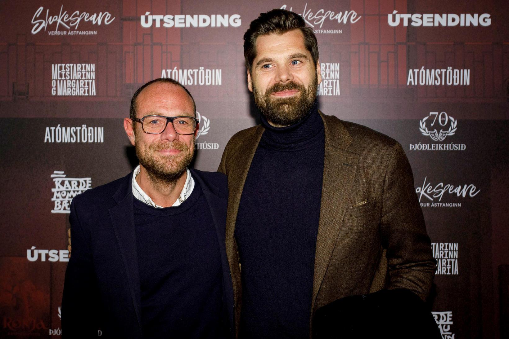 Björn Þór Sigurbjörnsson og Bergsteinn Sigurðsson.