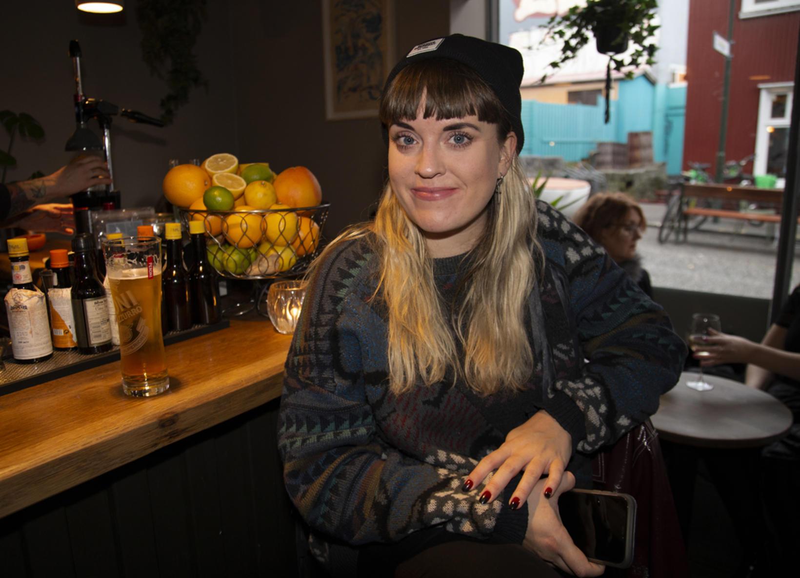 Berglind Pétursdóttir.
