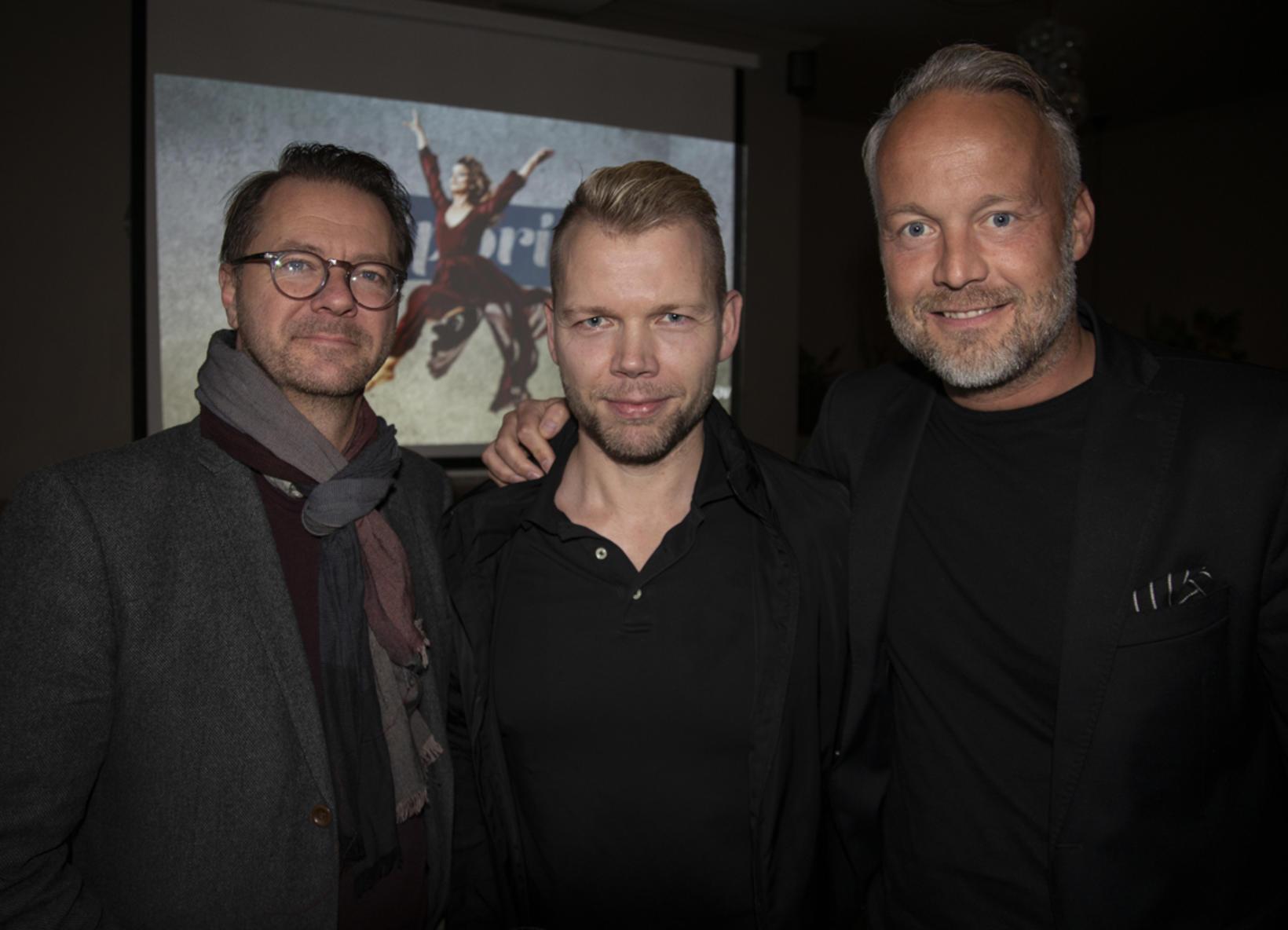Skarphéðinn Guðmundsson, Samúel Bjarki Pétursson og Hlynur Sigurðsson.
