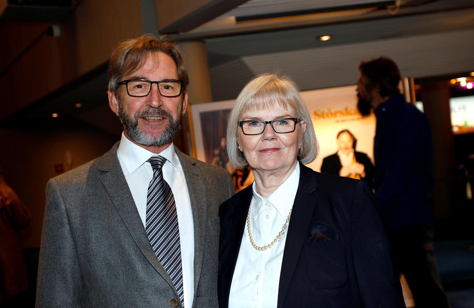 Stefán Andrésson og Guðlaug Valgeirsdóttir.