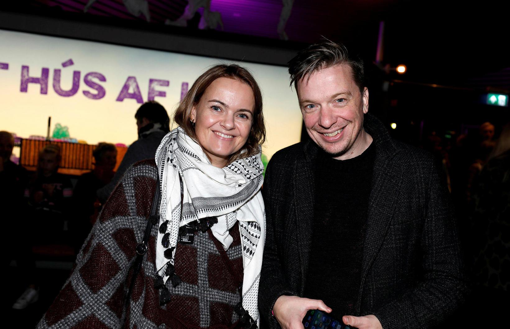 Heiða Sigurpálsdóttir og Baldvin Z.