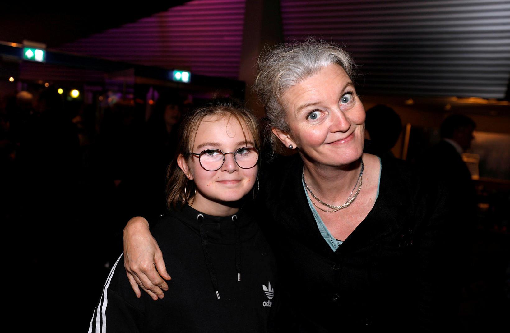 Margrét Vilhelmína Nikulásdóttir og Halldóra Geirharðsdóttir.