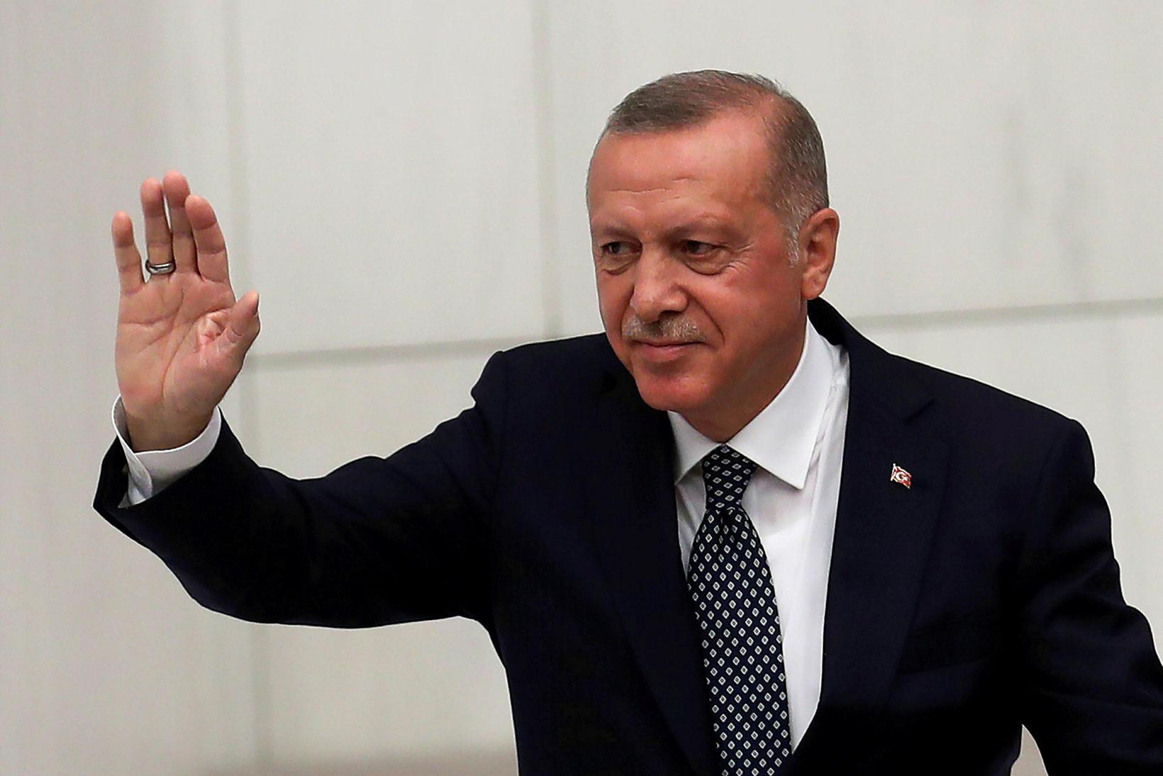 Erdogan Tyrklandsforseti.