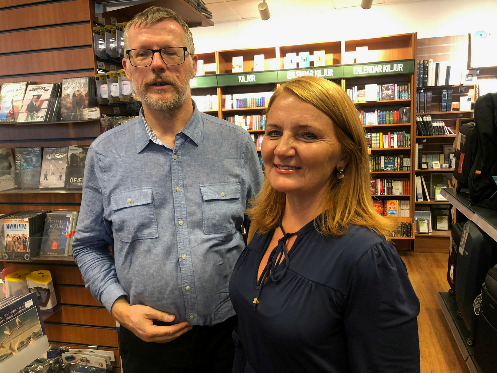 Magnús Þorkelsson og Rósa Guðbjartsdóttir.