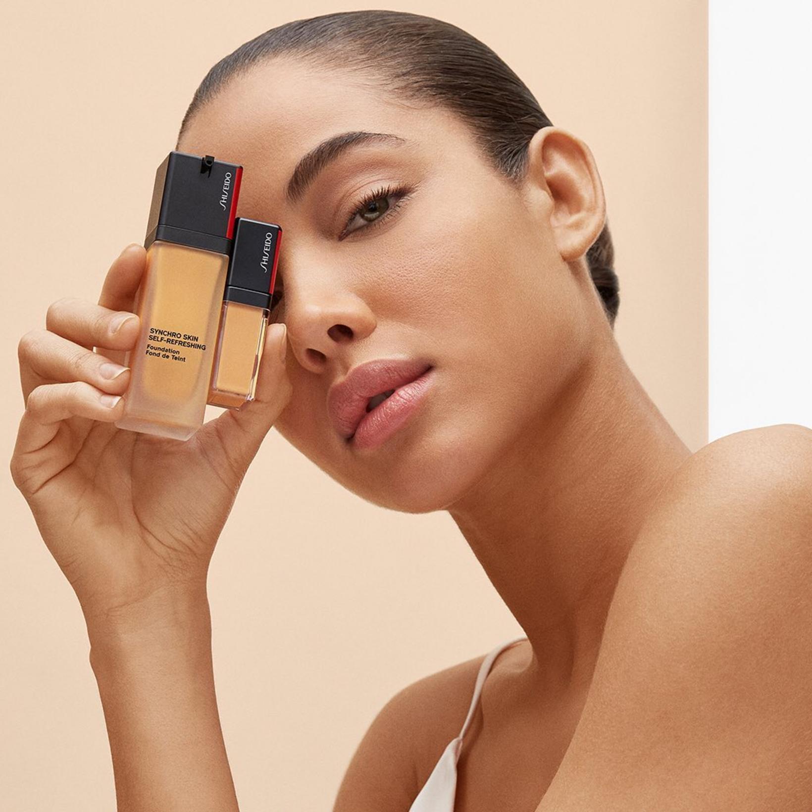 Mikil spenna ríkti fyrir nýjustu farðalínu Shiseido sem býr yfir ...