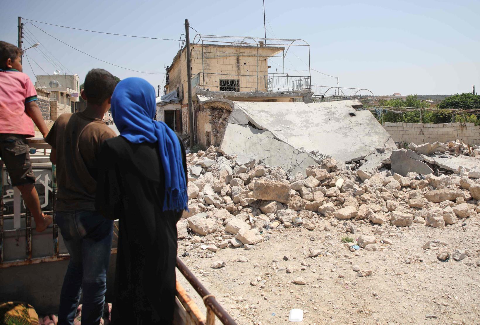 Ástandið í Idlib er ólýsanlega skelfilegt.