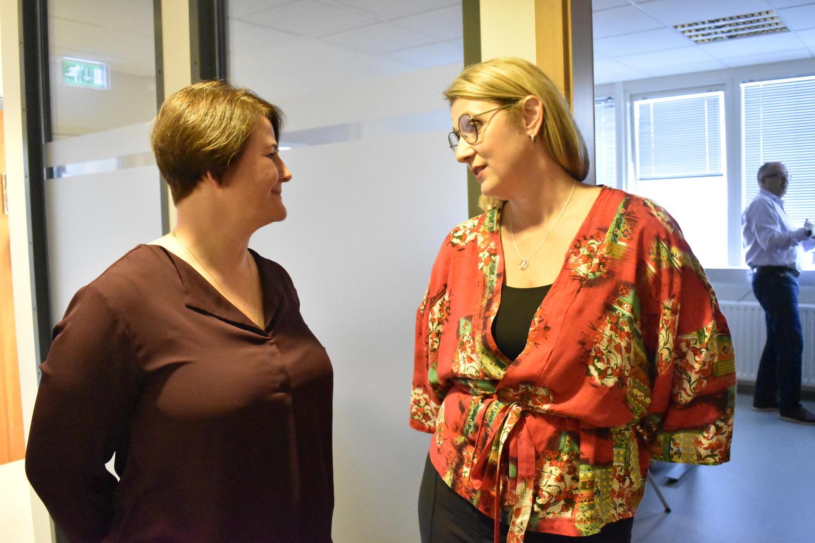 Ólöf Birna Björnsdóttir ráðgjafi og Anna Gunnhildur Ólafsdóttir, fyrrverandi framkvæmdastjóri …