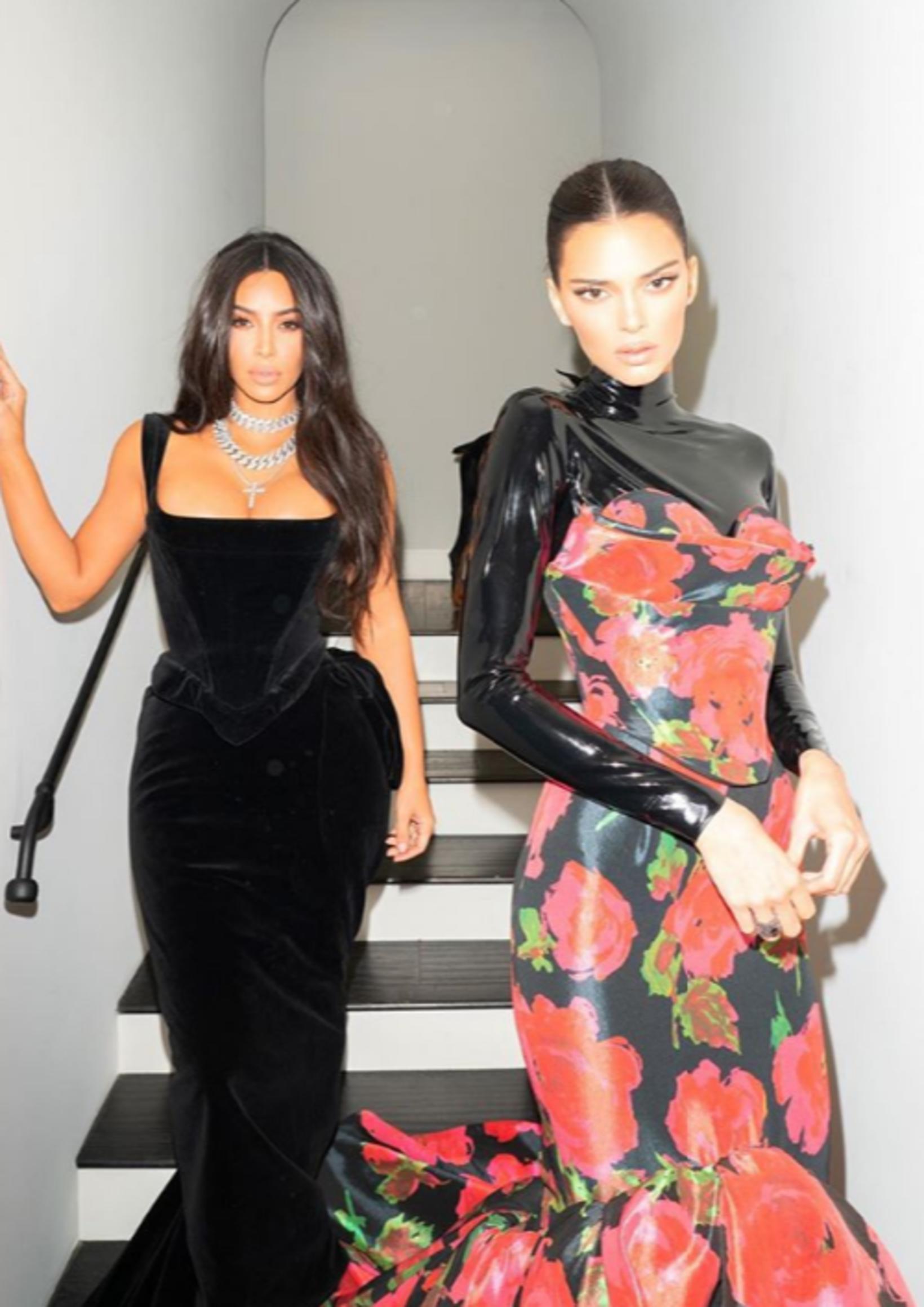 Ein af myndunum sem Kardashian West birti á Instagram.