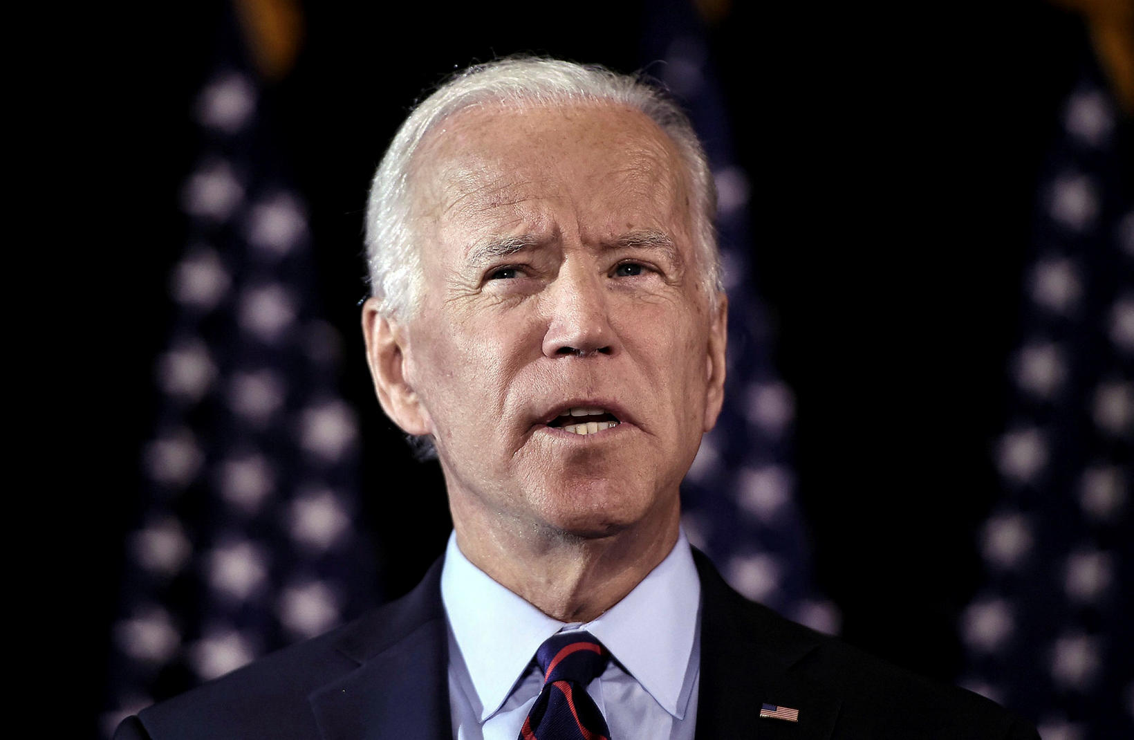 Joe Biden, fyrrverandi varaforseti Bandaríkjanna.