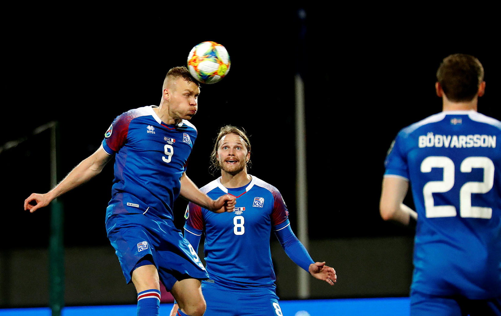 Kolbeinn Sigþórsson og Birkir Bjarnason eru tilbúnir í að mæta …