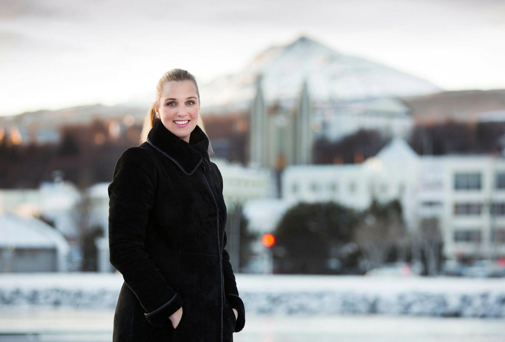 Ásthildur Sturludóttir, bæjarstjóri Akureyrarbæjar.
