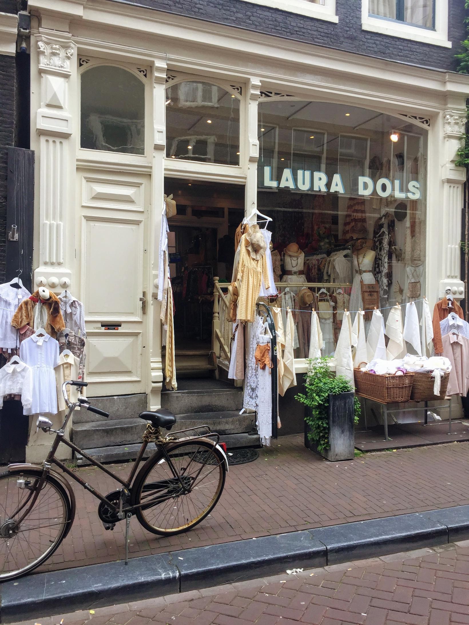 Laura Dols í Amsterdam er með mikið úrval af gersemum ...