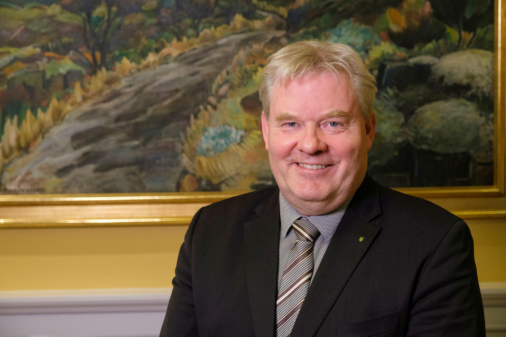 Sigurður Ingi Jóhannsson samgöngu- og sveitarstjórnarráðherra.