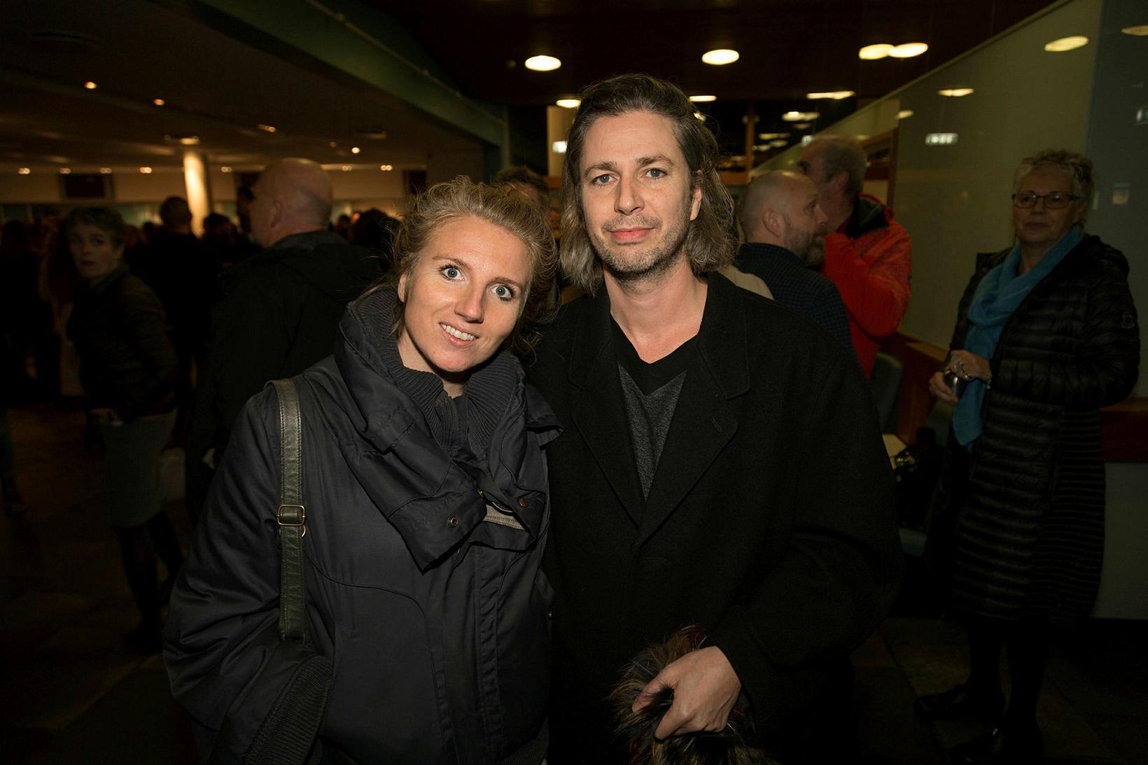Hrefna Lind Lárusdóttir og Huginn Þór Arason.
