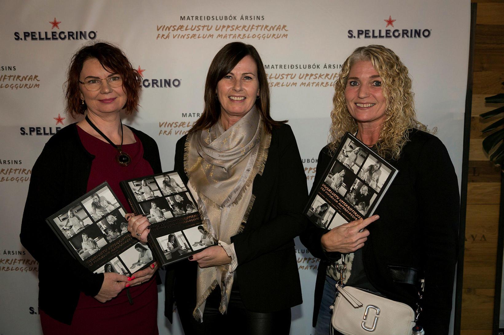 Jurate Ásmundsson, Inga Björg Jóhannesdóttir og Dóra Valdís Gunnarsdóttir.