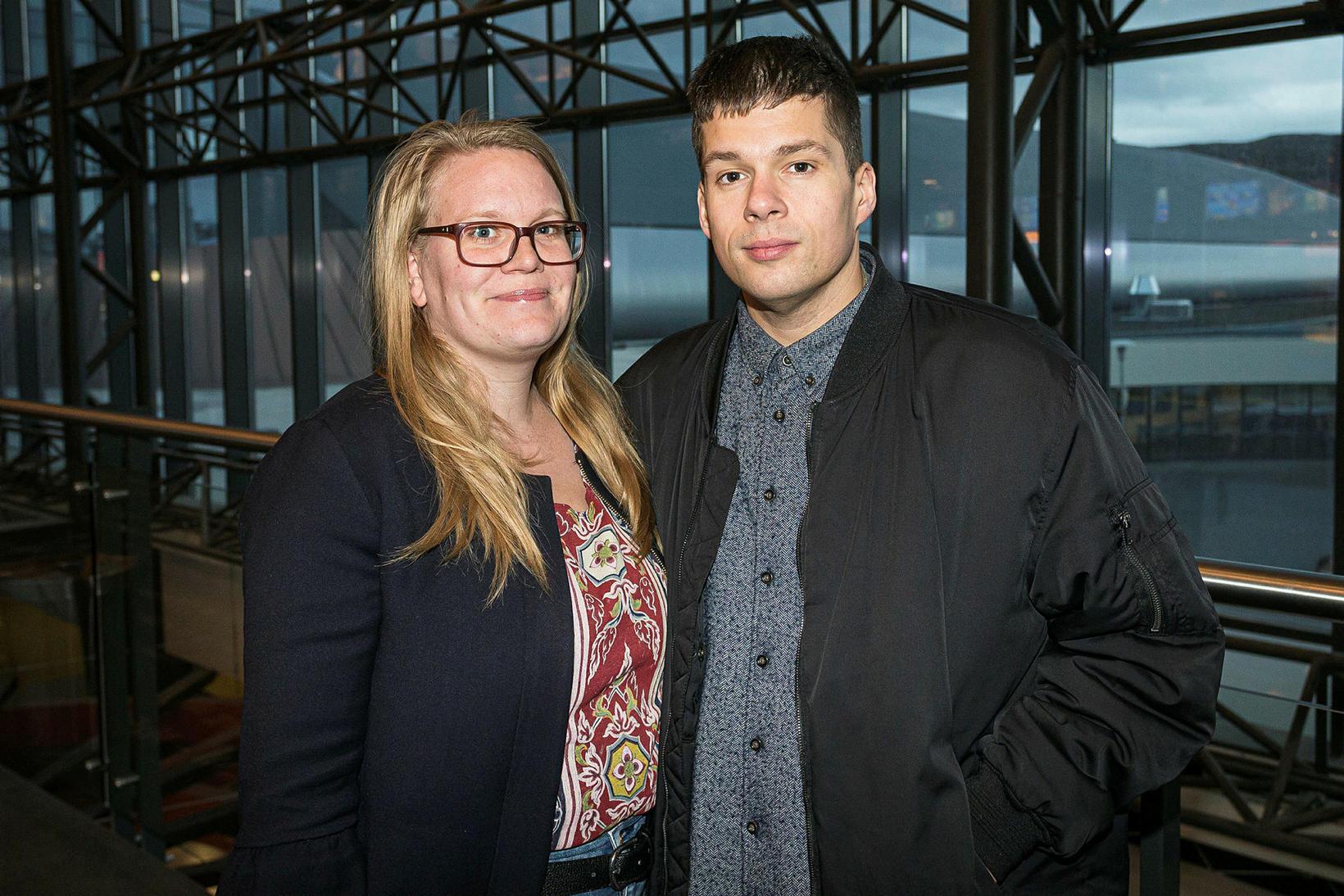 Sunna Kristín og Tómas Þór.