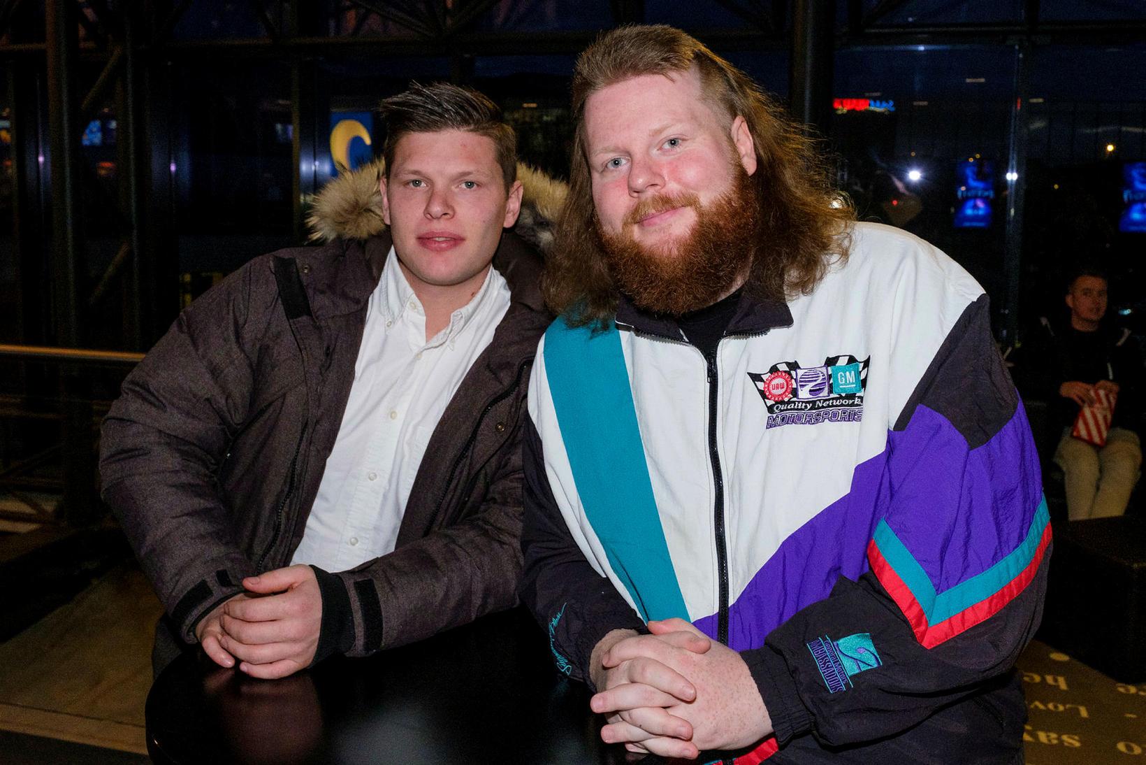 Andri og Brynjar Birgisson.