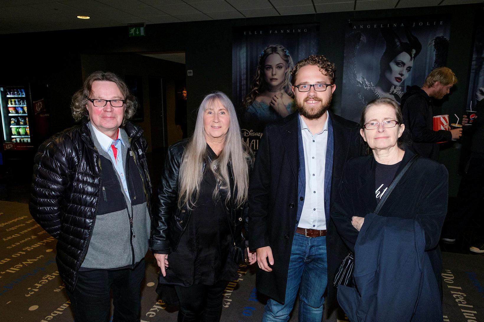 Sævar, Anna Björg, Finnbogi Darri og Gerður.