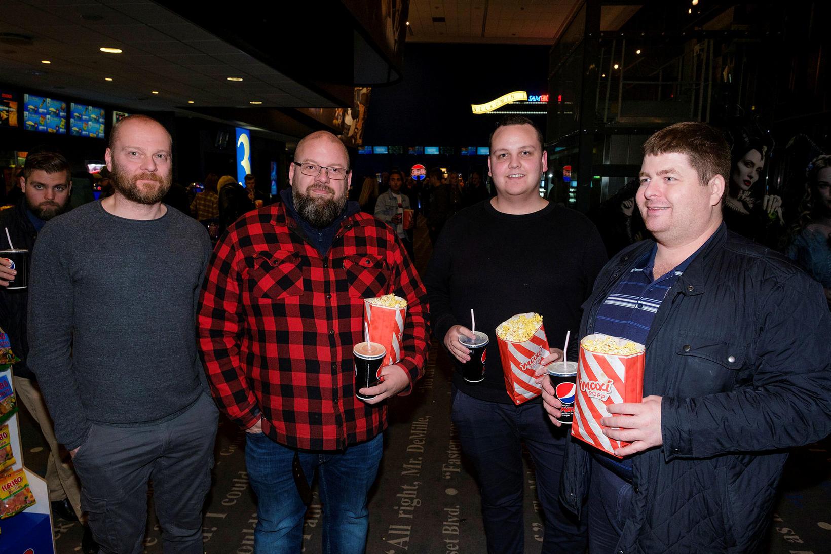 Ólafur, Ólafur, Þorgeir og Erik.