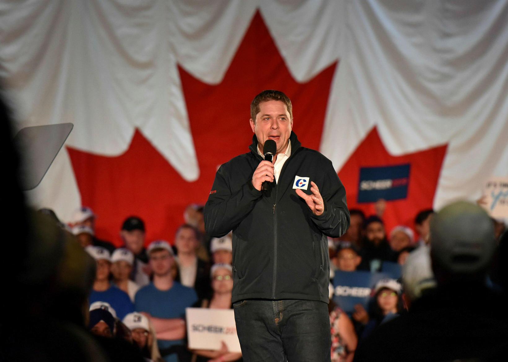 Andrew Scheer, leiðtogi Íhaldsflokksins í Kanada.