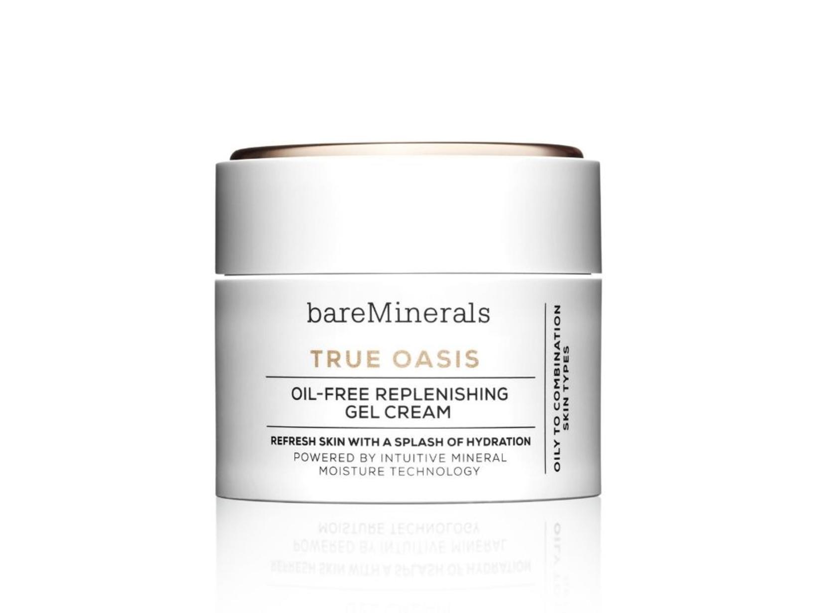 Bare Minerals True Oasis Oil-Free Replenishing Cream.