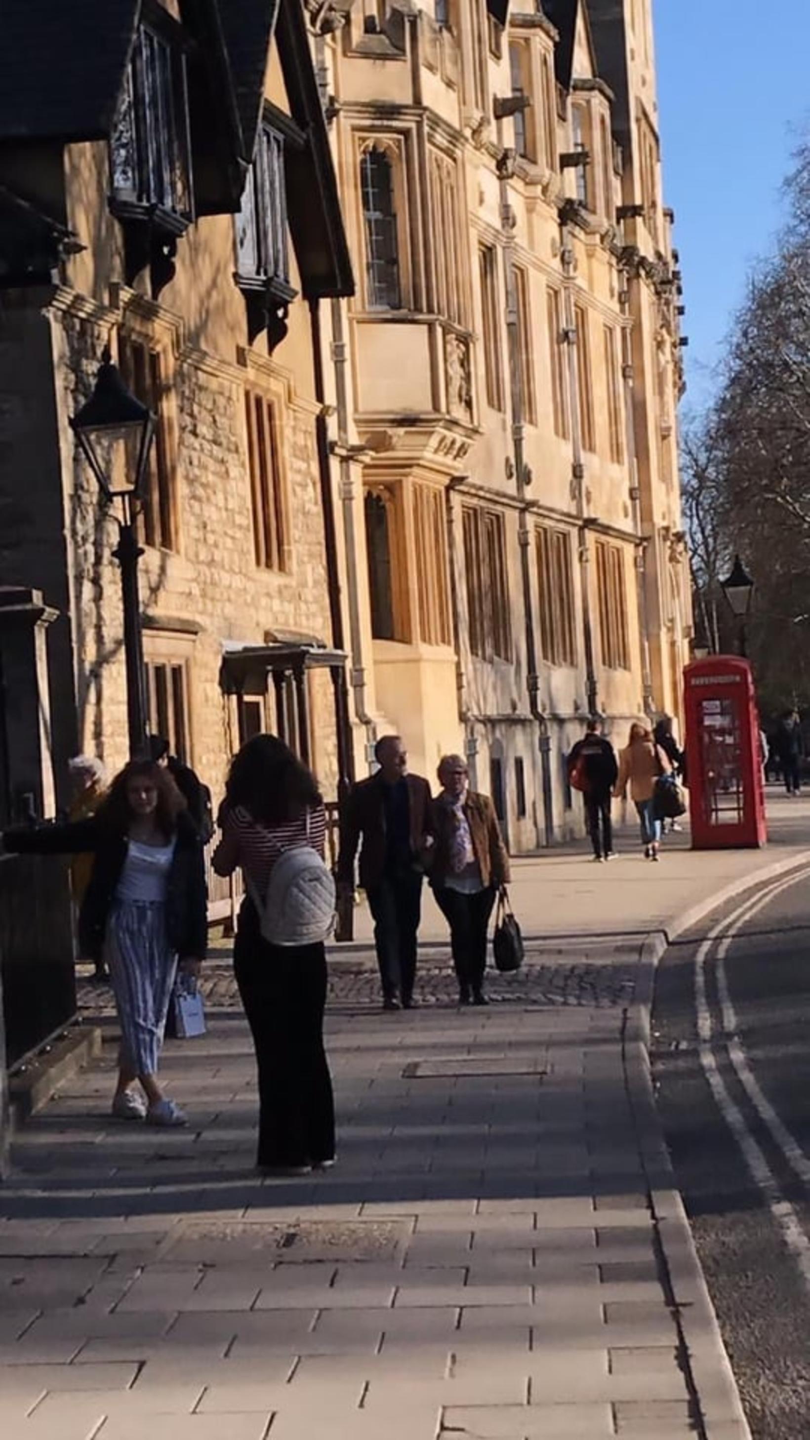 Dæmigerð gata í Oxford.