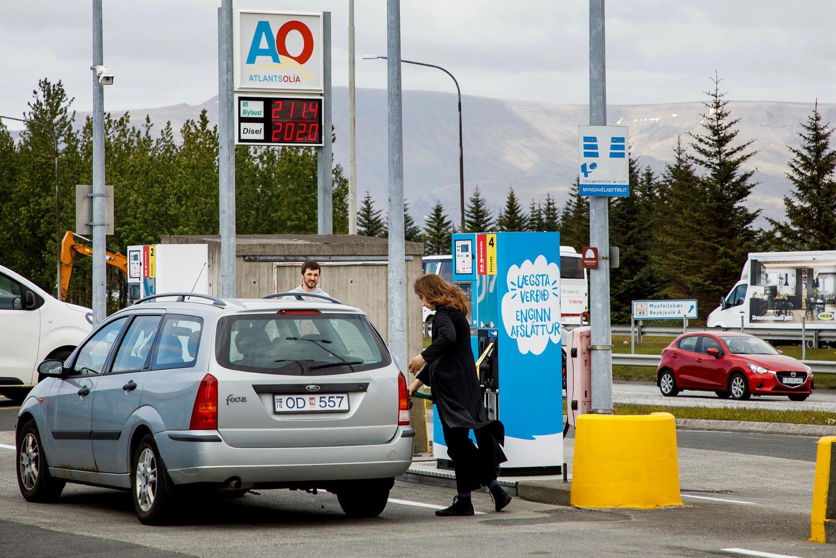 Atlantsolía var stofnuð árið 2002 og opnaði sína fyrstu bensínstöð …