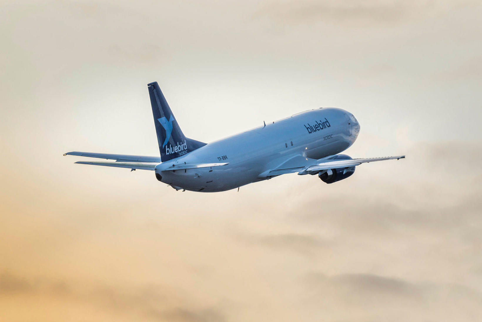 Bluebird Nordic er með Boeing 737 þotur í þjónustu sinni.