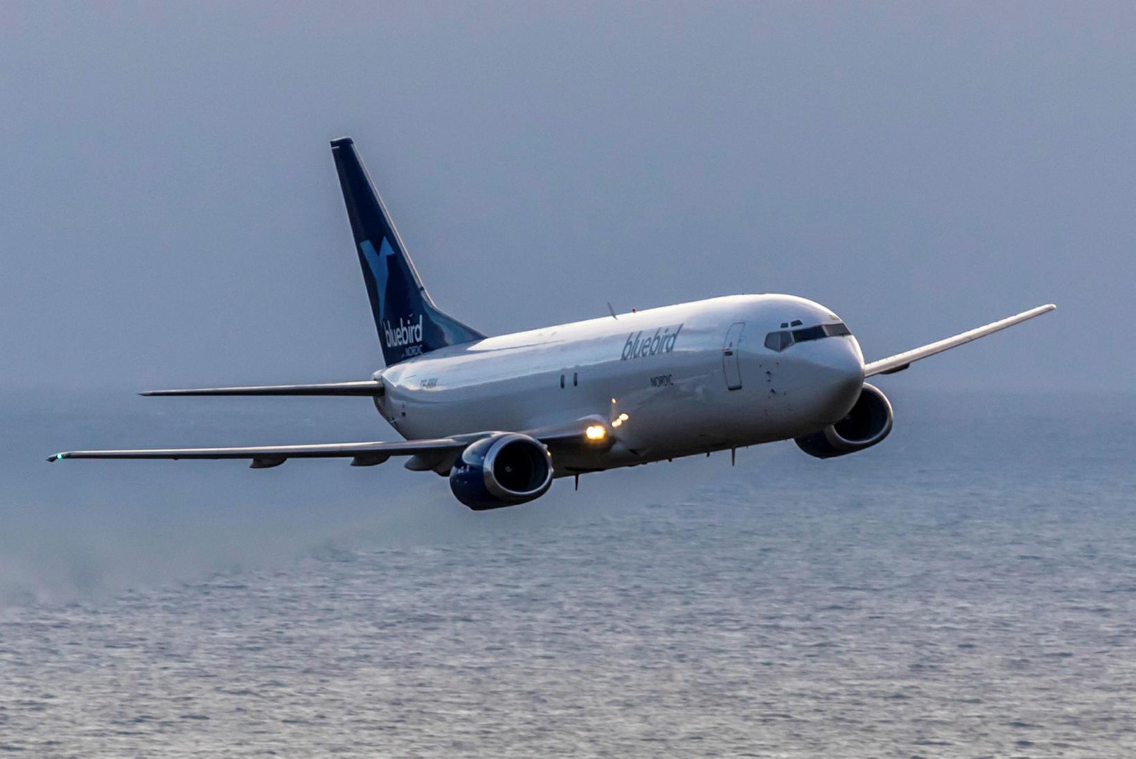 Bluebird Nordic hefur verið með 8 Boeing 737 þotur í …