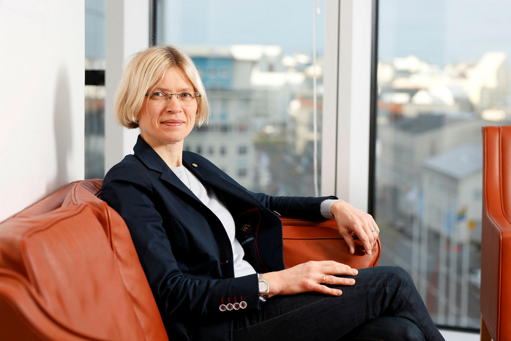 Ragnhildur Geirsdóttur er forstjóri Reiknistofu Bankanna (RB).