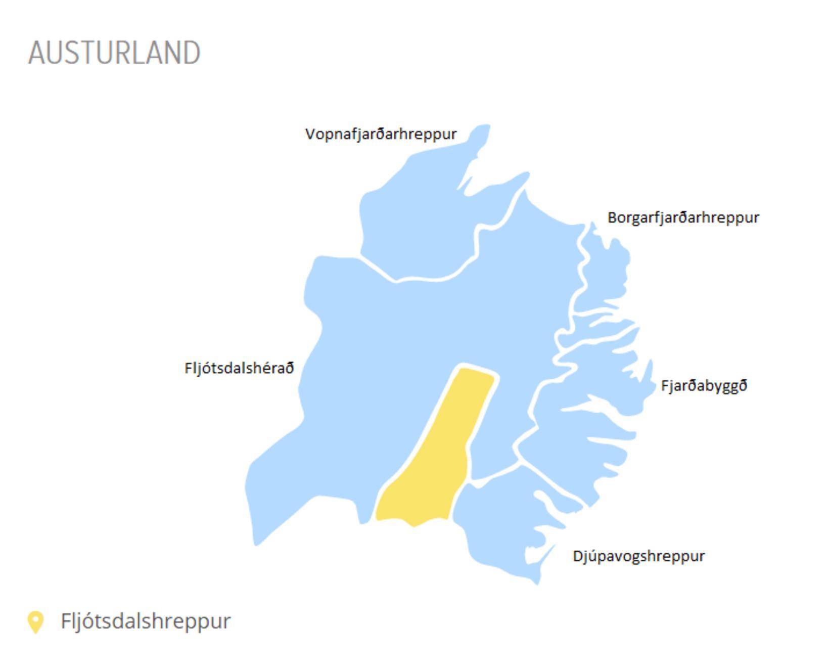 Á laugardag munu íbúar Borgarfjarðarhrepps, Djúpavogshrepps, Fljótsdalshéraðs og Seyðisfjarðarkaupstaða greiða ...