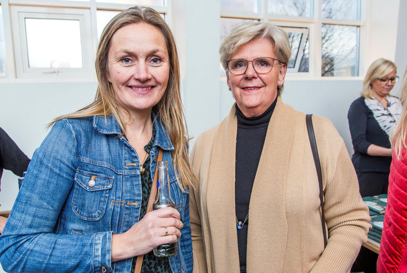 Ásta Sóllilja Guðmundsdóttir og Elín Bergs.