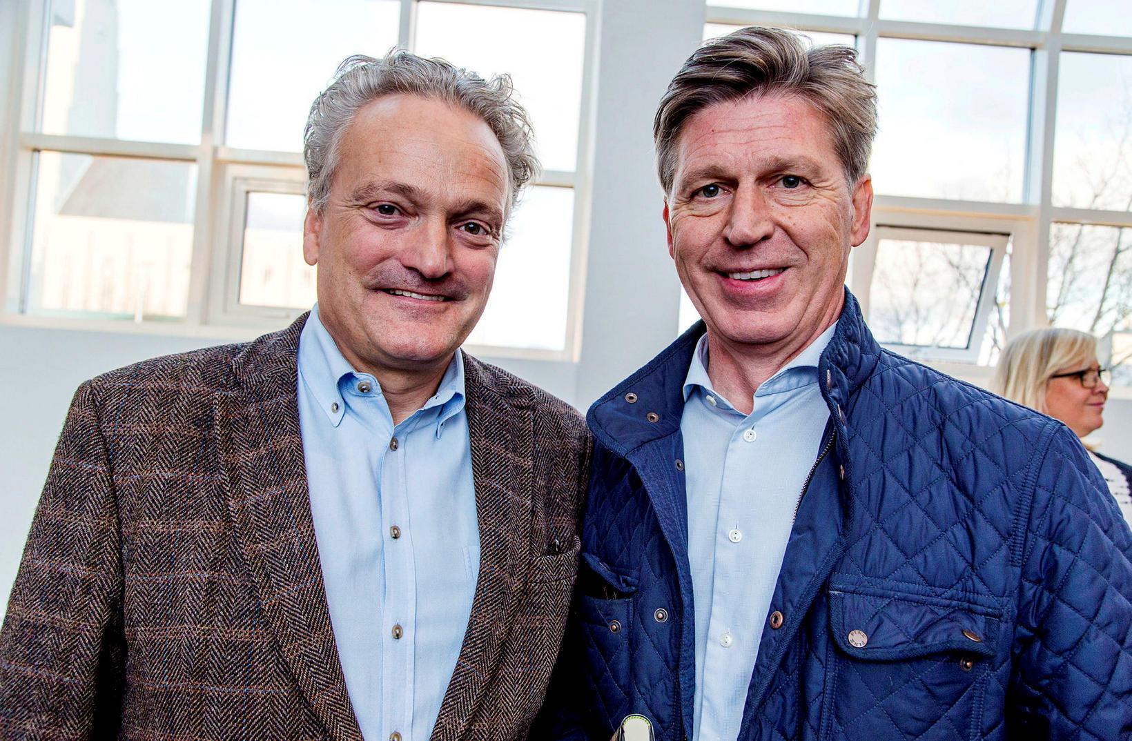Sigurbjörn Magnússon og Ólafur Garðarsson.