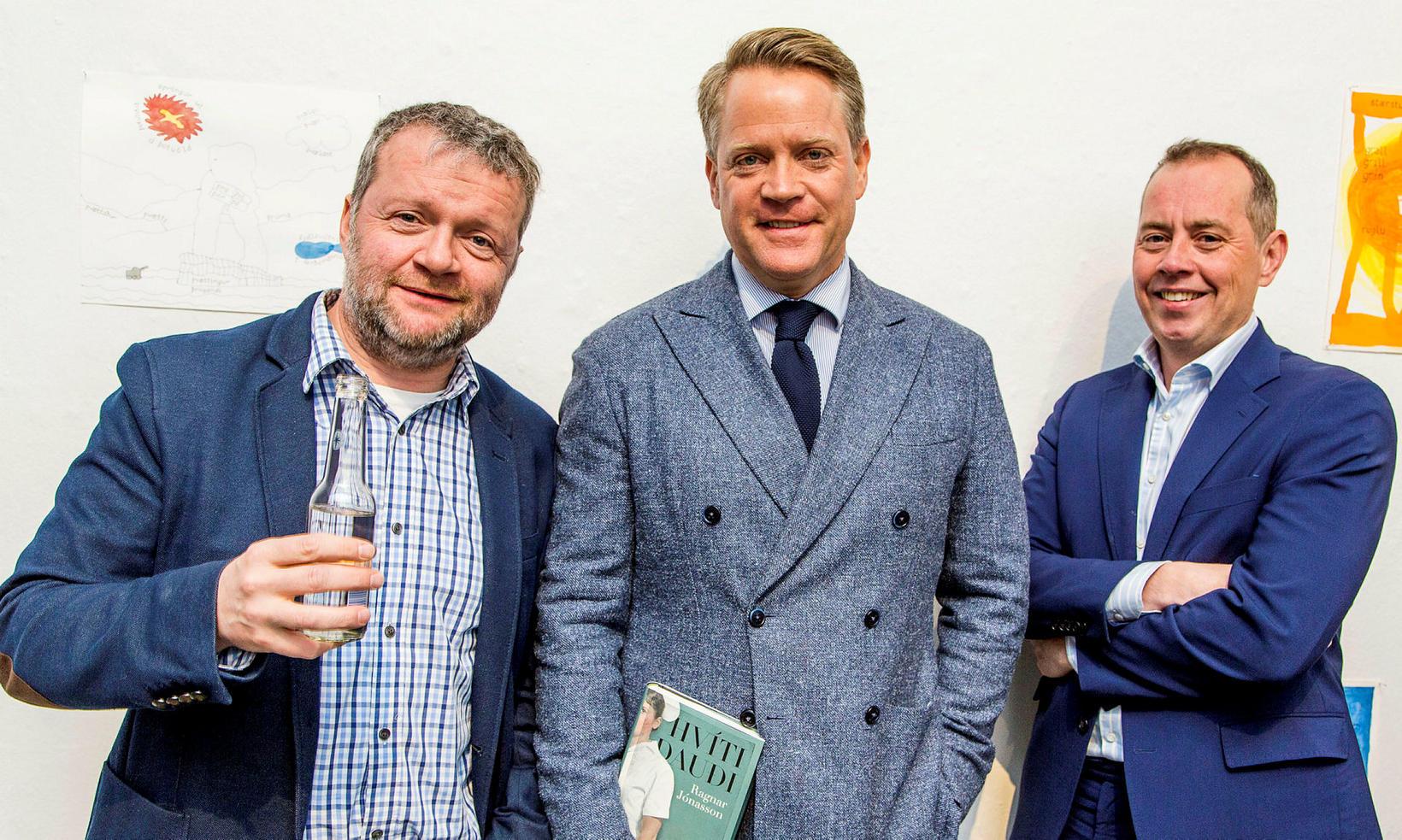 Börkur Gunnarsson, Heiðar Guðjónsson og Halldór Högnason.