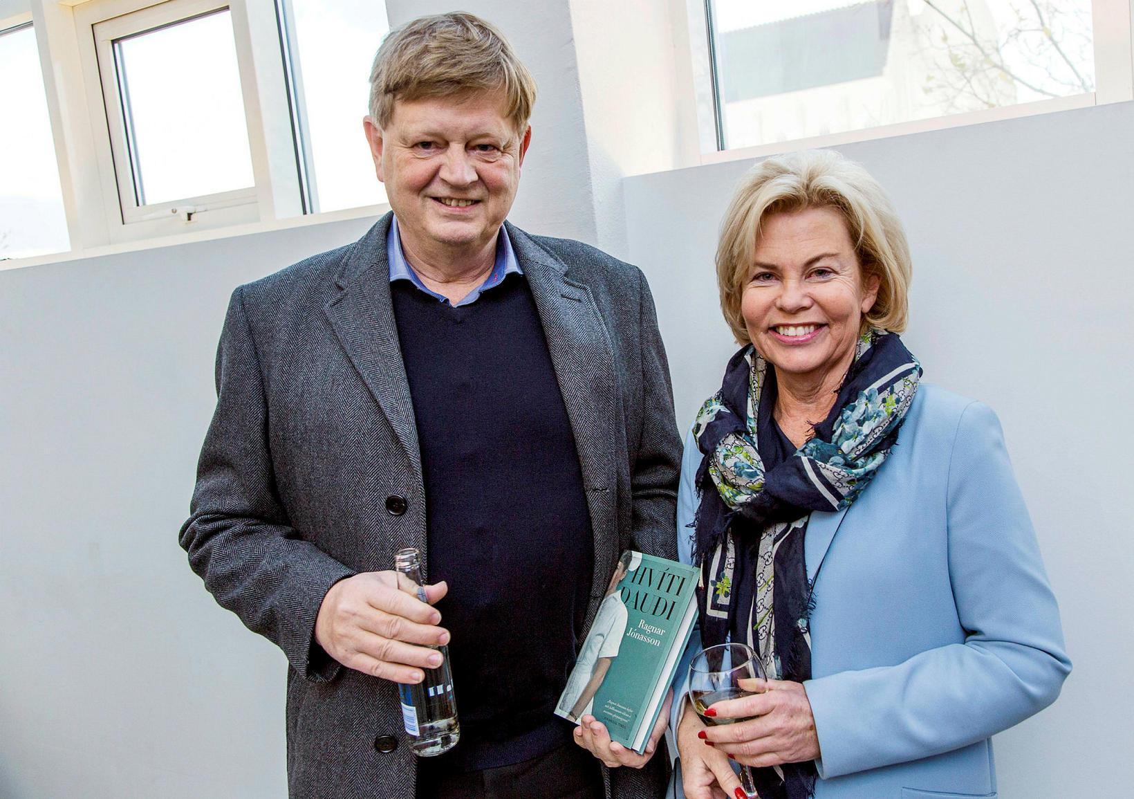 Jón Gunnlaugur Jónasson og Birna Sigurbjörnsdóttir.