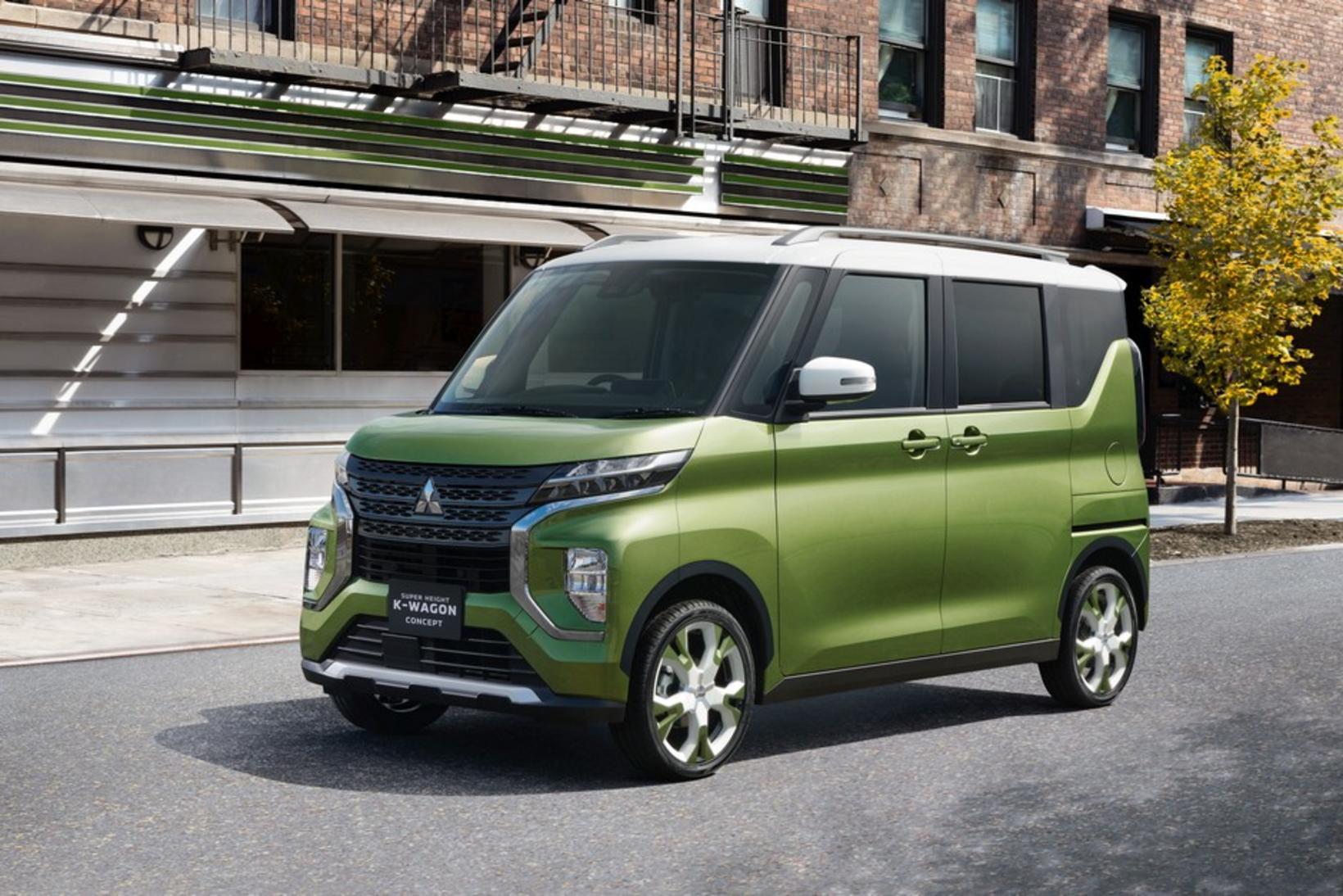 Mitsubishi K-Wagon.
