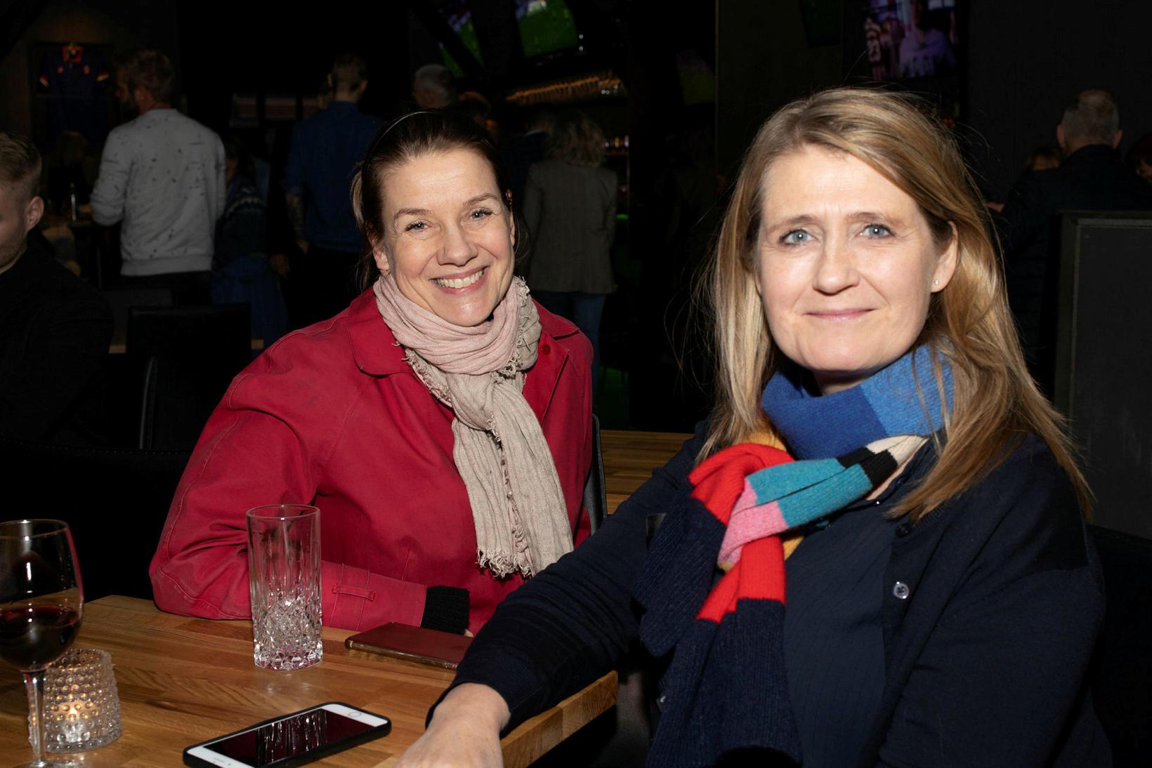 Ástríður Þórðardóttir og Anna Margrét Marinósdóttir.