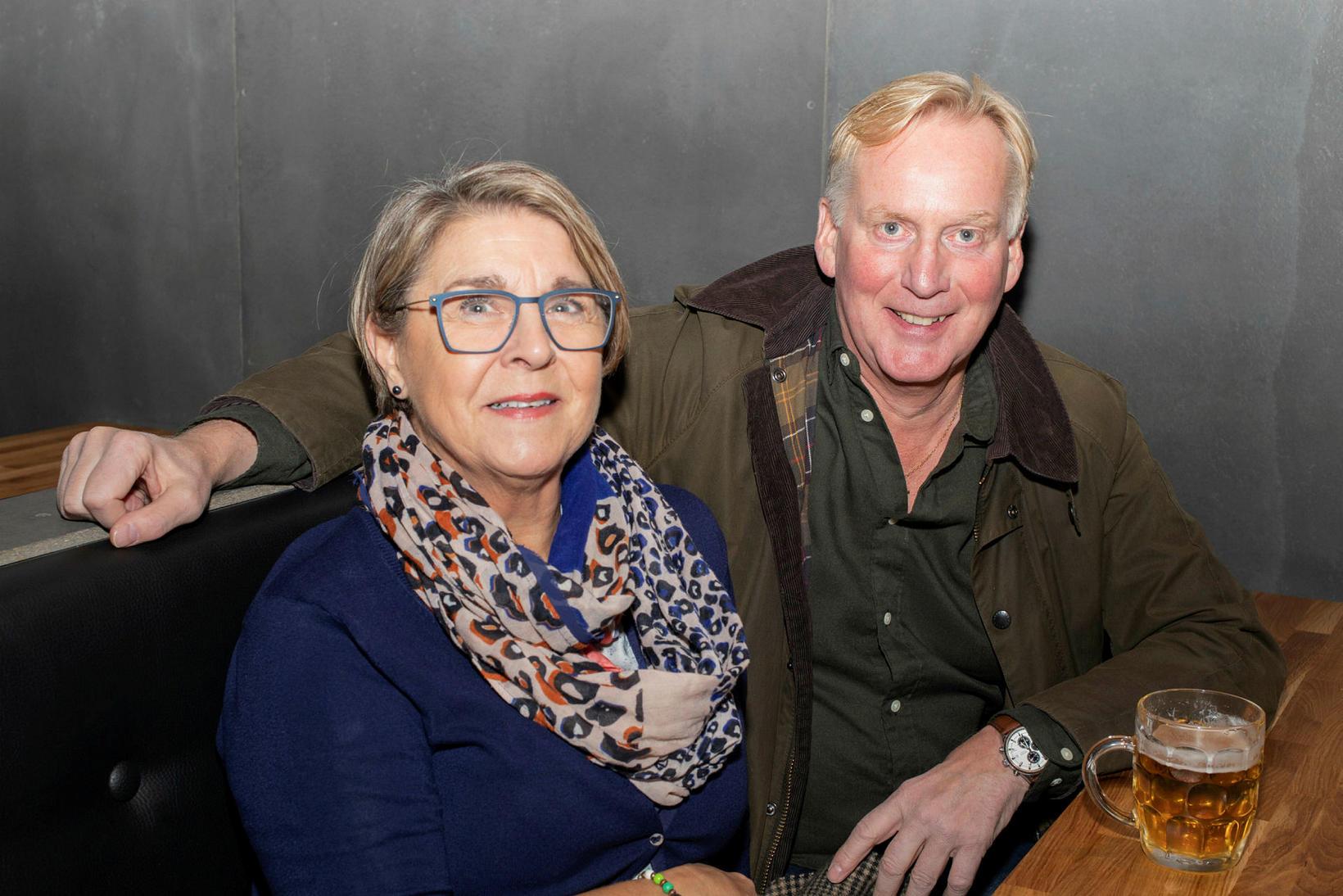 Sigrún Sigurgeirsdóttir og Jón Gunnar Sigurðsson.