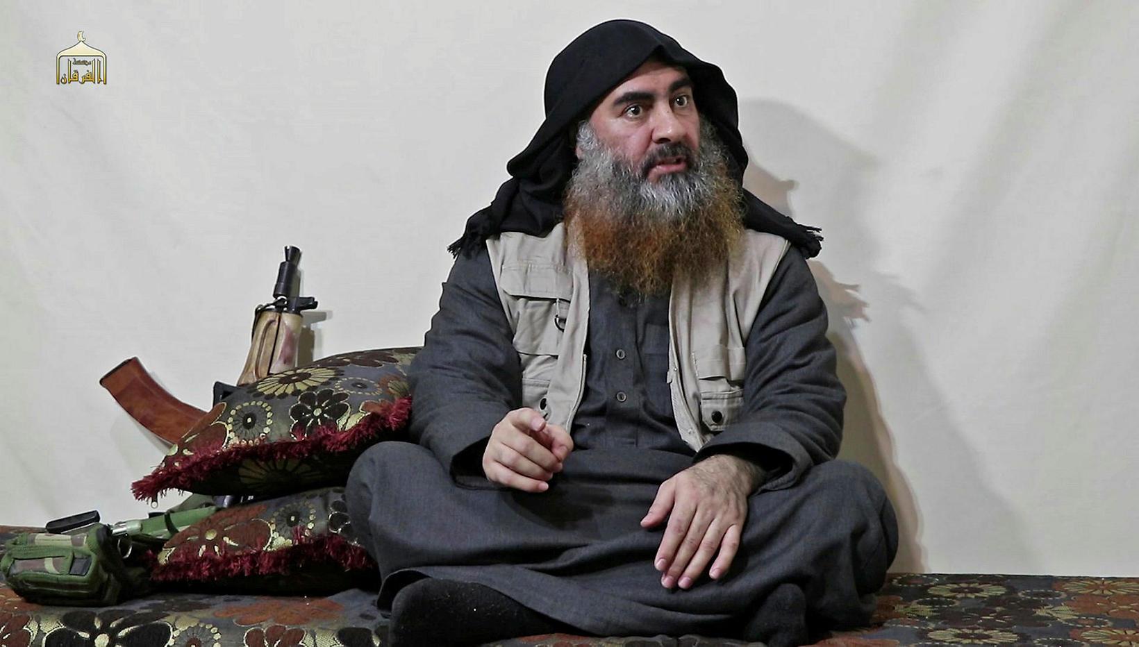 Abu Bakr al-Baghdadi, leiðtogi Ríkis Íslams, lét lítið fyrir sér ...