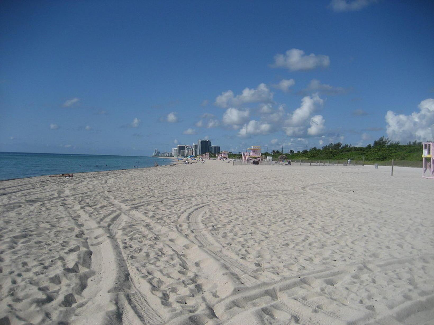 Haulover Beach, Miami.
