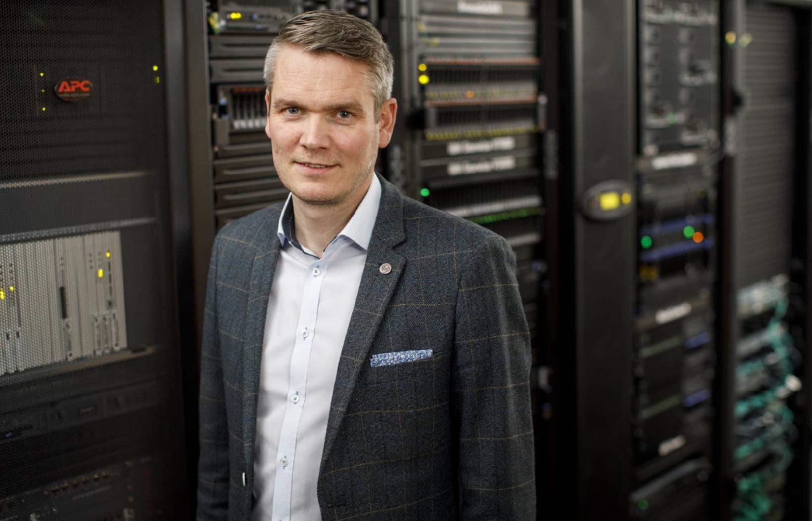 Anton Már Egilsson, forstöðumaður skýja- og öryggislausna hjá upplýsingatæknifyrirtækinu Origo.