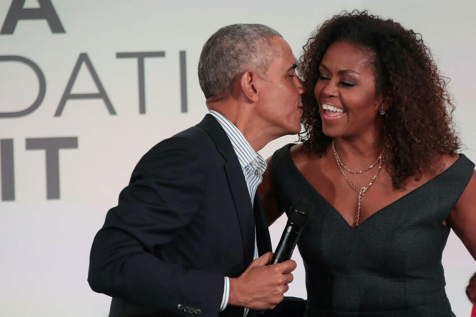 Obama-hjónin hafa farið í gegnum súrt og sætt saman.