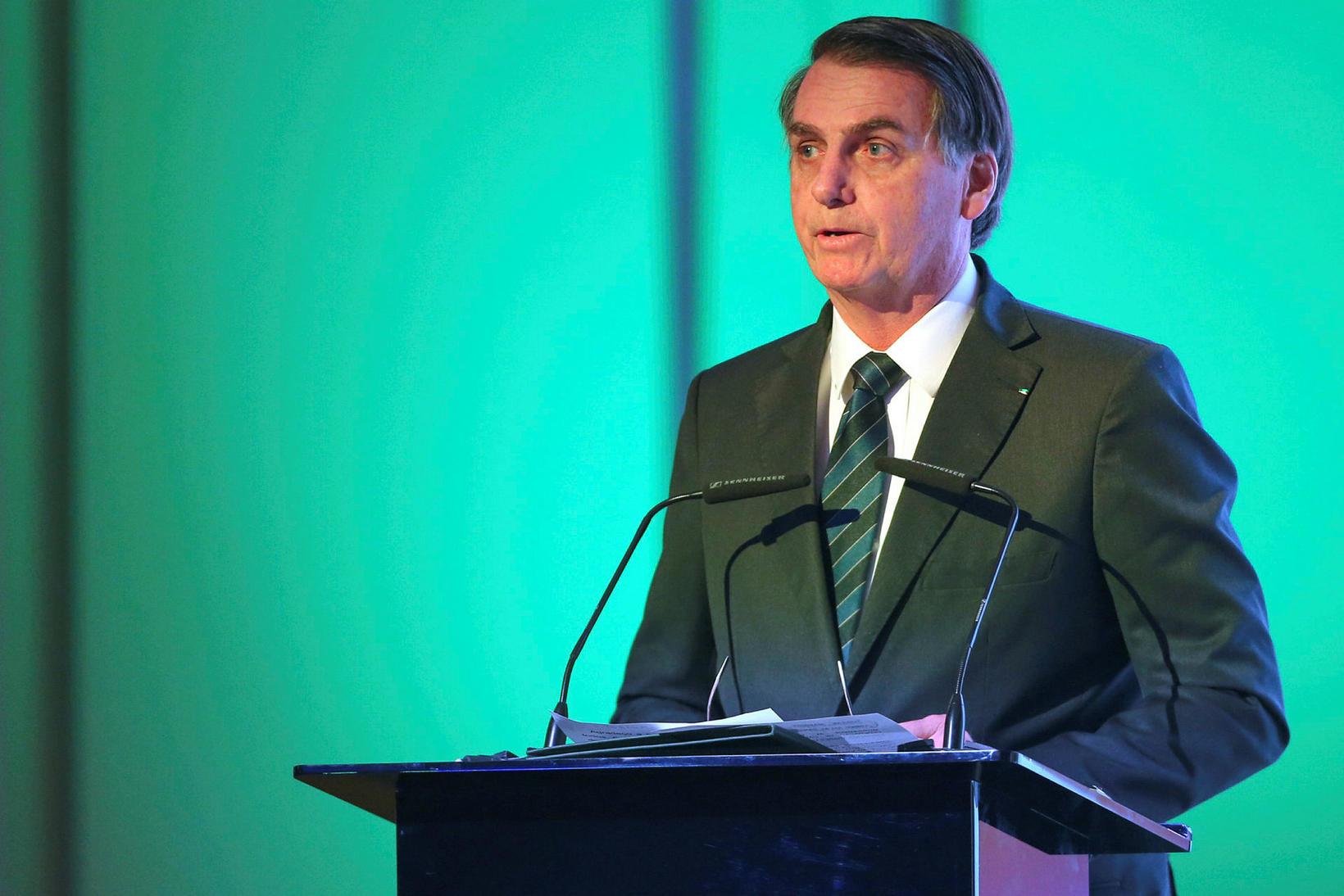 Jair Bolsonaro er nú forseti Brasilíu.