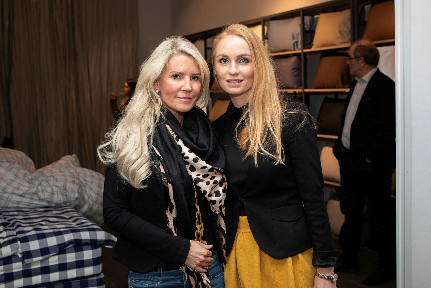 Elsa Grímsdóttir og Inga Minelgaite.
