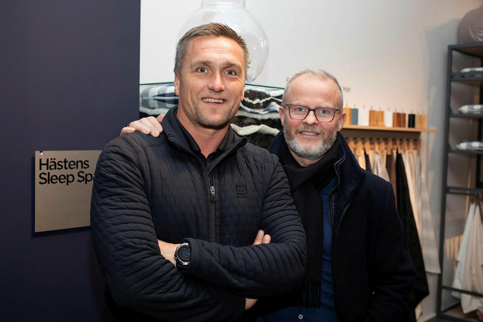 Geir Rúnar Birgirsson og Erling Adólf Ágústsson.