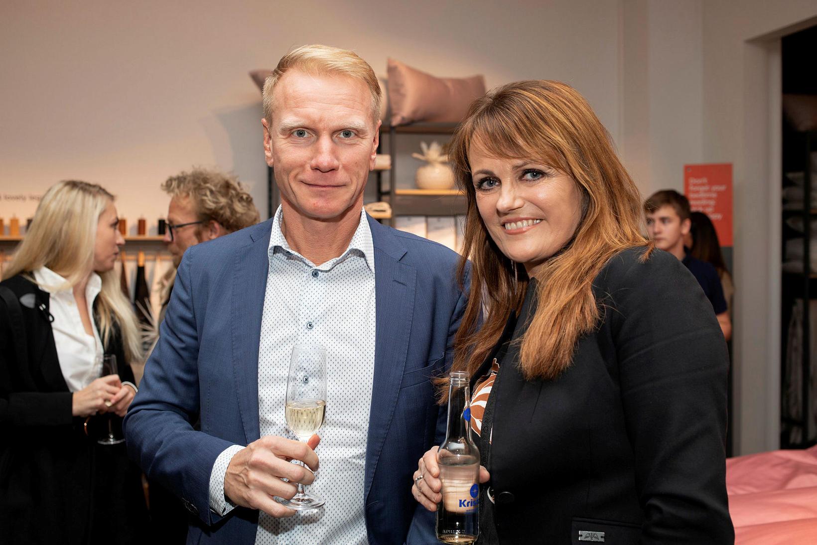 Sverrir Guðmundsson og Guðrún Ólafsdóttir.