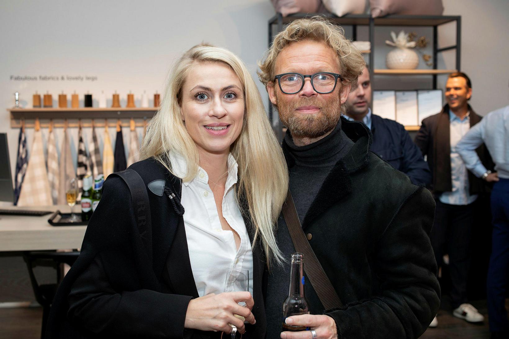 Berglind Sif Valdimarsdóttir og Arnar Gauti Sigurðsson.