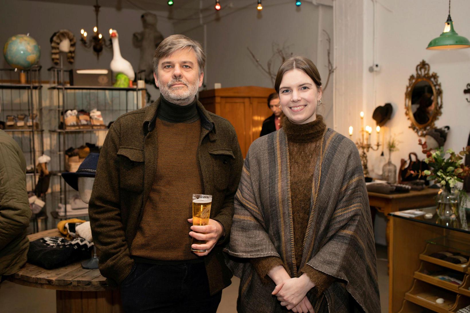 Einar Pálsson og Sonja Margrét Ólafsdóttir.