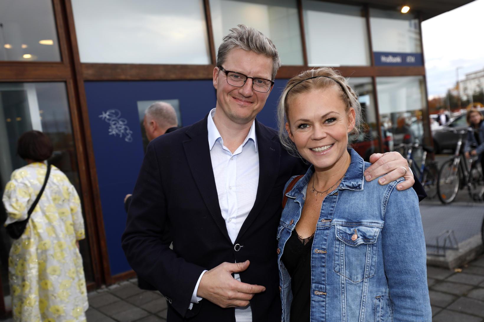 Sveinn Þórir Geirsson og Tinna Hrafnsdóttir.
