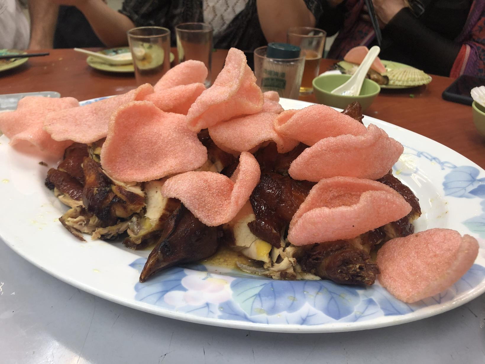Ýmislegt girnilegt var í boði í Sheung Wan Cooked Food …